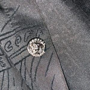 VINTAGE VERSACE Oversize Button Down Shirt Unisex